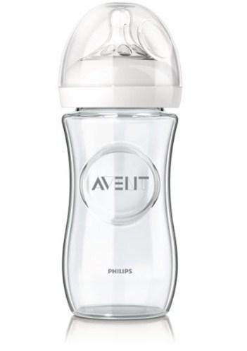 Avent láhev 240 ml Natural skleněná
