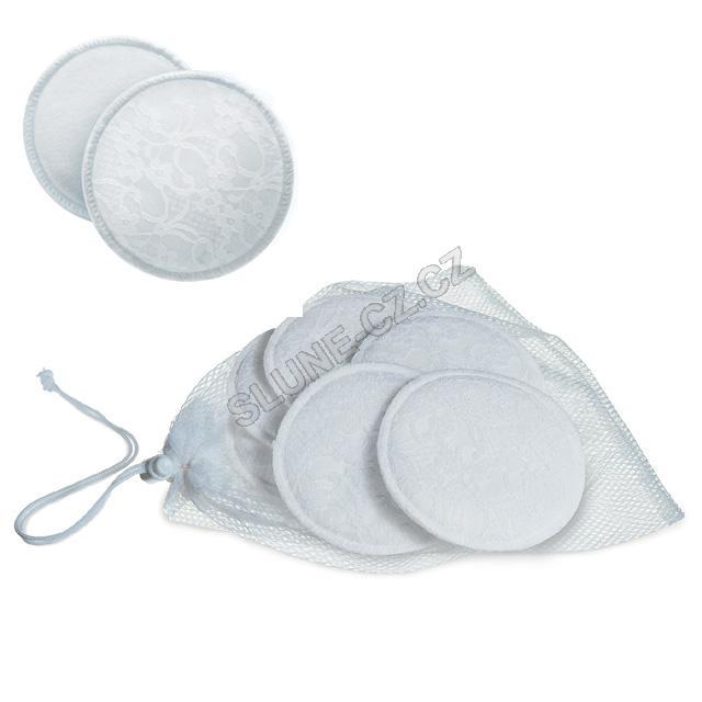 Avent absorpční vložky bavlněné, prací, 6 ks