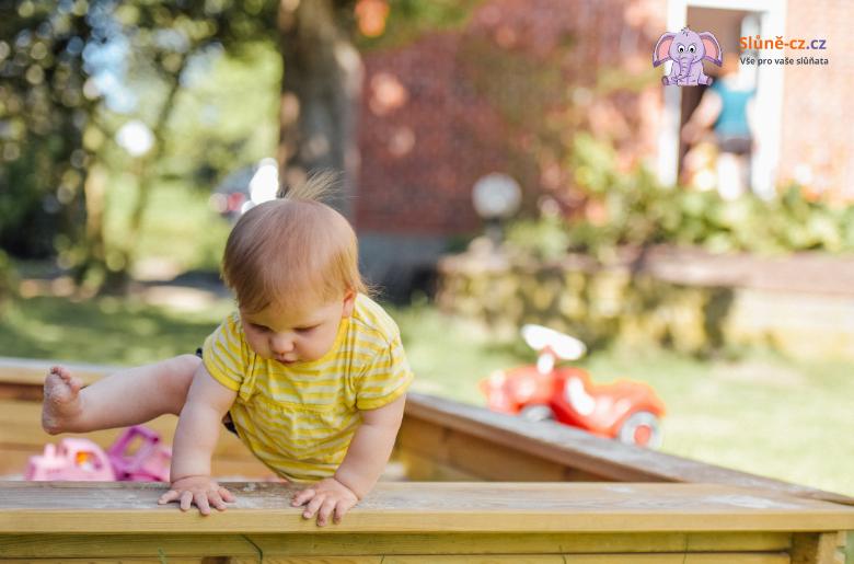 Jak naučit dítě chodit (cca 1rok)