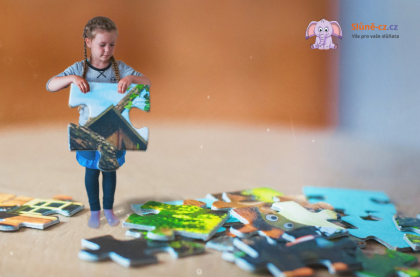 Jak naučit dítě skládat puzzle  - Věk 2+