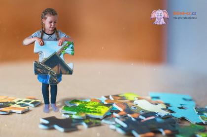 Učíme děti – Jak skládat puzzle, část 2. – Věk 3+