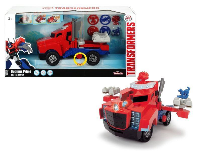 Dickie Transformers Optimus Prime Battle Truck 23 cm