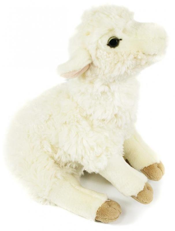 Rappa plyšová ovečka sedící, 25 cm