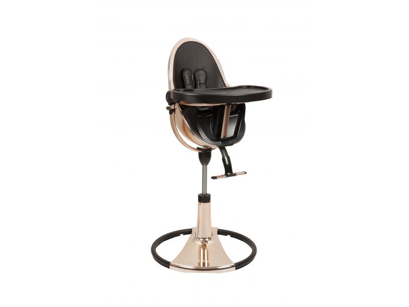 Jídelní židlička Bloom Fresco Chrome Gold rose (special luxury edition), bez podložky