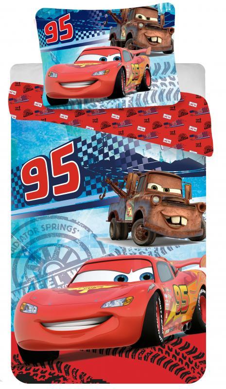 Jerry Fabrics Bavlněné povlečení Cars speed 140x200 cm