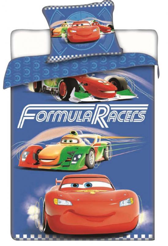 Jerry Fabrics Bavlněné povlečení Cars racers 140x200 cm