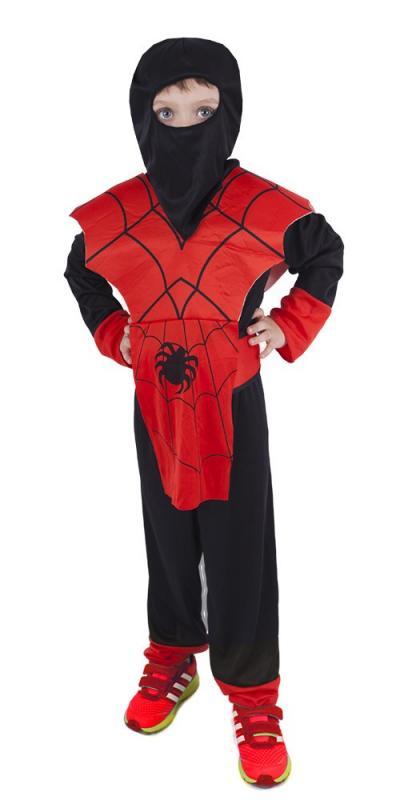 Karnevalový kostým Ninja pavouk, vel. S