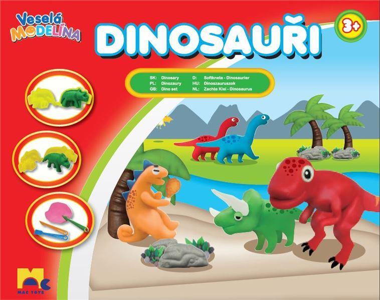 Mac Toys Modelína dinosauři