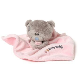 EP Line Me to you - Tiny Tatty Teddy - Růžová dečka s medvídkem