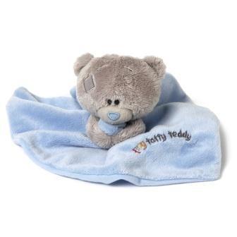 EP Line Me to you - Tiny Tatty Teddy - Modrá dečka s medvídkem