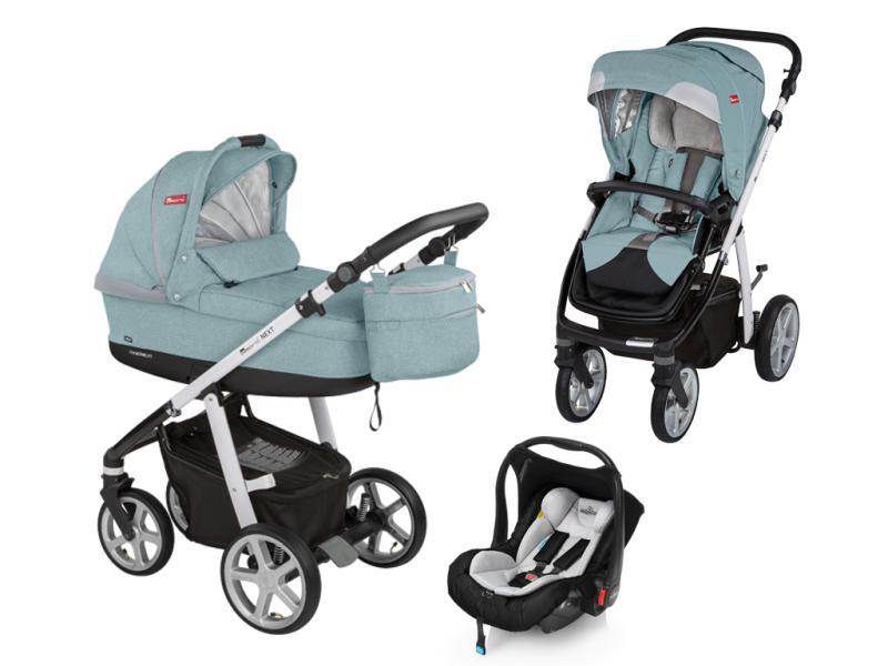 Kočárek Espiro Next Style s autosedačkou Baby Design Leo 2017