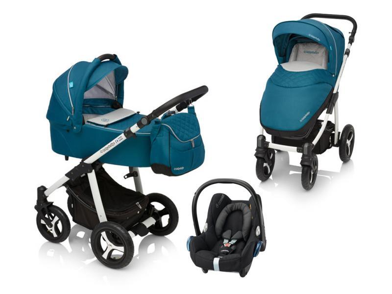 Kočárek Baby Design Lupo Comfort + autosedačka Maxi-Cosi CabrioFix 2017