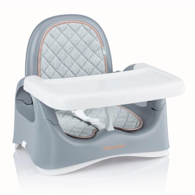 Jídelní židlička přenosná Babymoov Compact Seat Smokey