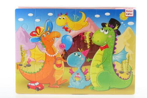 Roter Käfer Pěnové puzzle 24 dílků dino