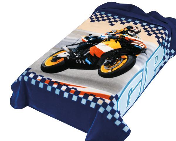 Scarlett Španělská deka 222 - modrá, 220x160 cm