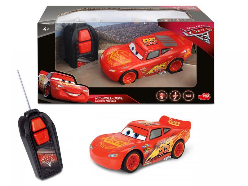 Dickie RC Cars 3 Blesk McQueen Single Drive 1:32, 1kan
