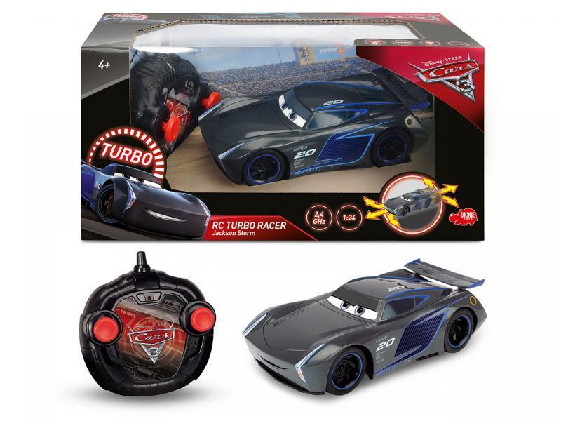 Dickie RC Cars 3 Turbo Racer Jackson Hrom 1:24, 17cm, 2 kan