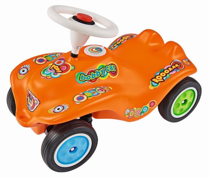 BIG Auto odstrkovadlo BIG BOBBY CAR POP oranžové