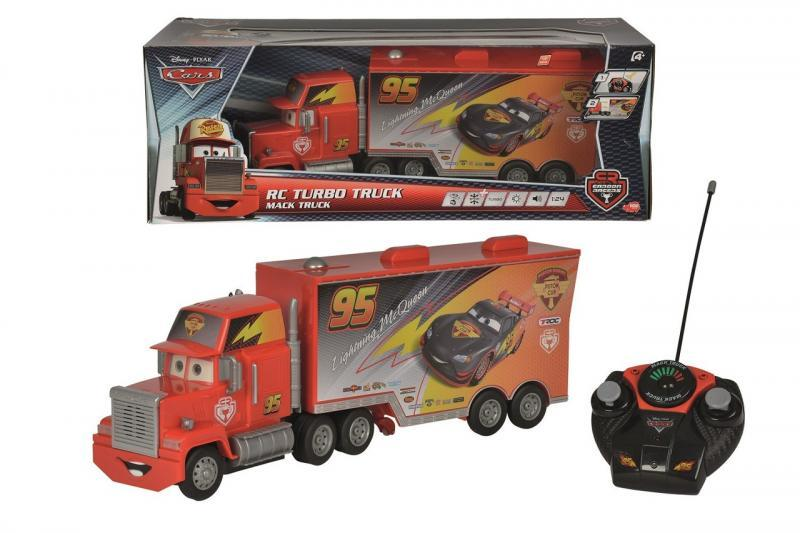 Dickie RC Cars Carbon Turbo Mack Truck 46 cm, 3kan
