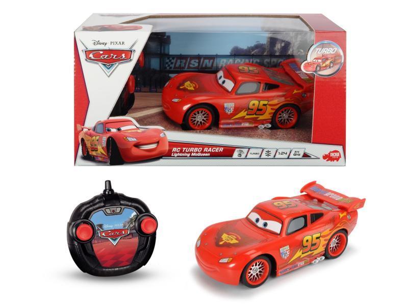 Dickie RC Cars Turbo Racer Blesk McQueen 1:24, 17 cm, 2kan