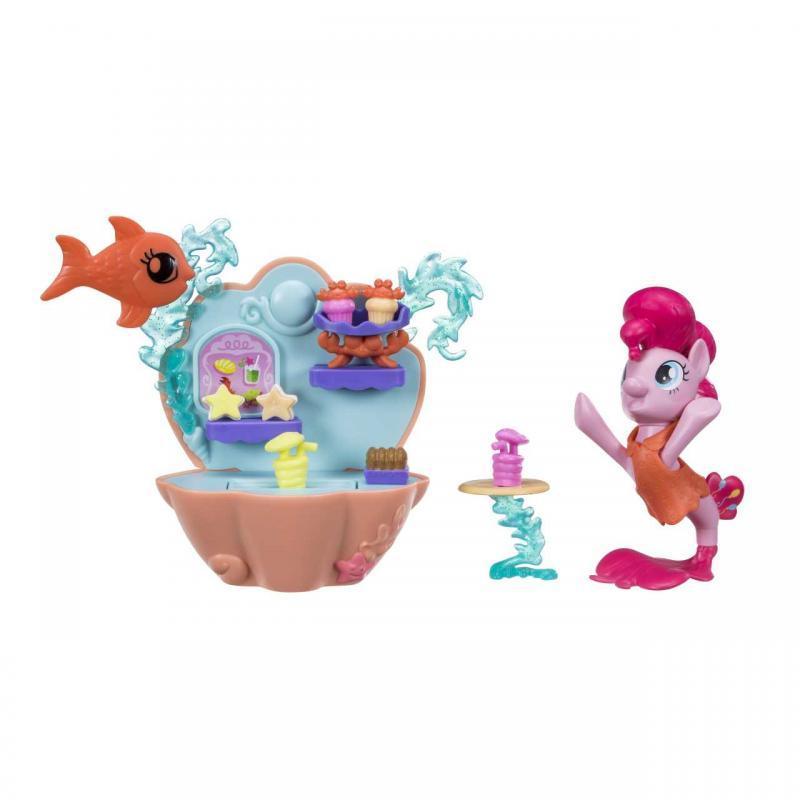 Hasbro My Little Pony Podmořský hrací set s poníkem 7,5cm - Rarity