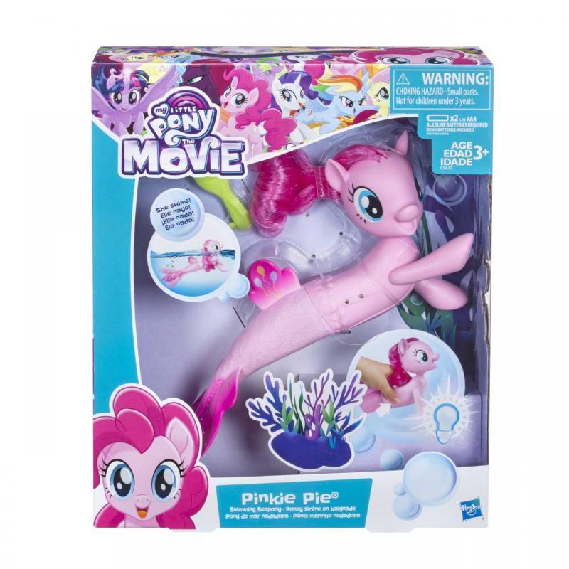 Hasbro My Little Pony Mořský poník s pohyblivým a svítícím ocáskem 27cm