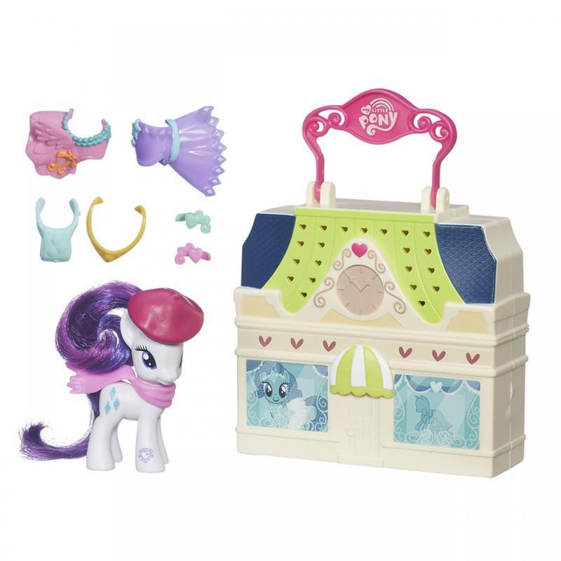 Hasbro My Little Pony Otevírací hrací set - Rarity