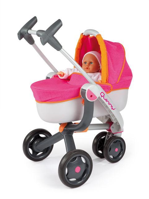 Smoby Maxi-Cosi & Quinny Kombinovaný kočík Quinny pre bábiky