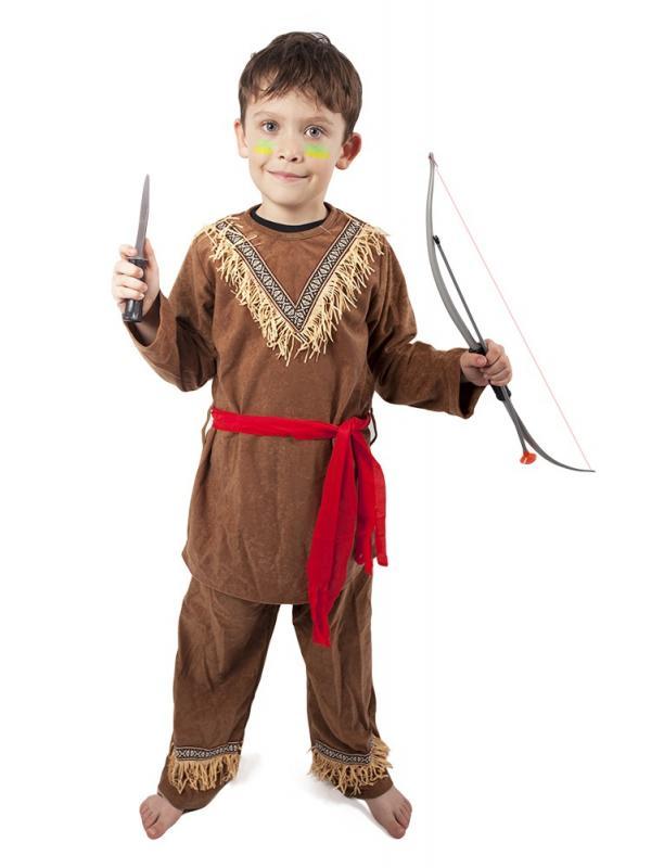 Karnevalový kostým indián, vel. S
