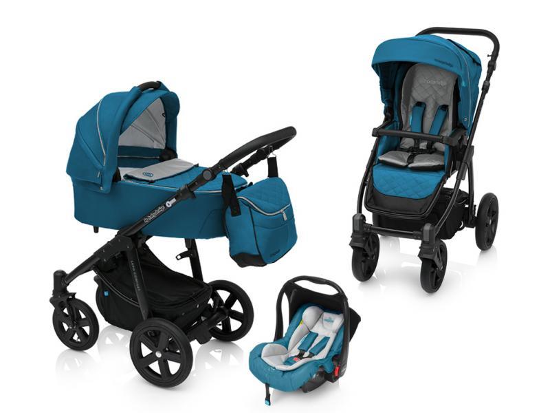 Kočárek Baby Design Lupo Comfort + autosedačka Baby Design Leo 2018