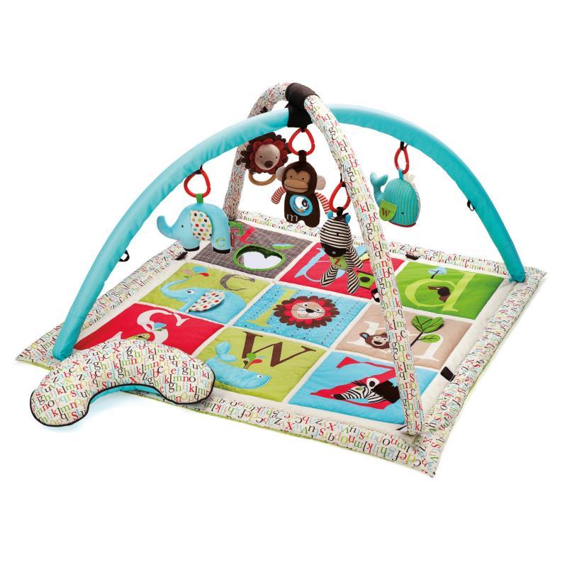 Skip Hop ABC Zoo - Deka hrací s hrazdou
