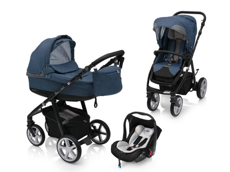 Kočárek Espiro Next Flow s autosedačkou Baby Design Leo 2018
