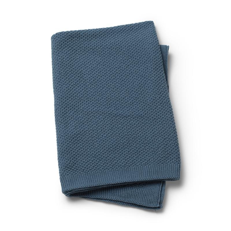 Elodie Details pletená deka Tender Blue