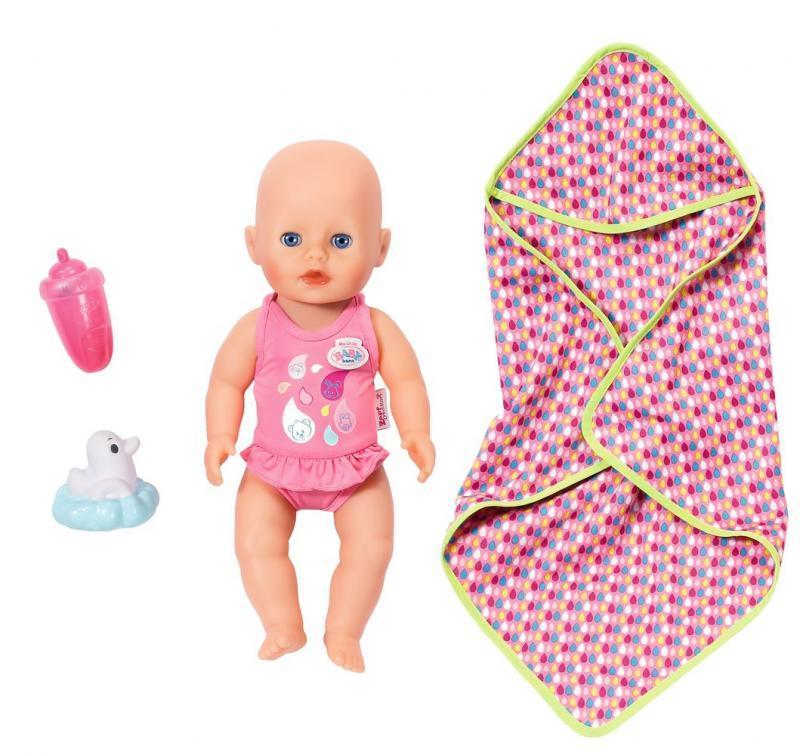 Zapf Creation My Little Baby born Koupací panenka
