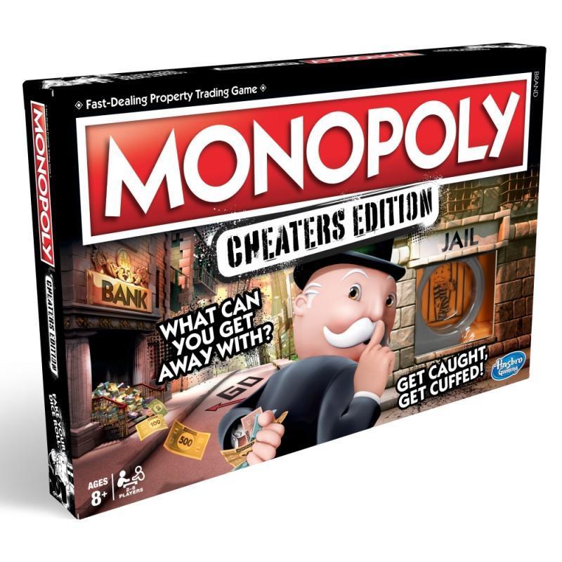 Hasbro Hra Monopoly Cheaters edition CZ