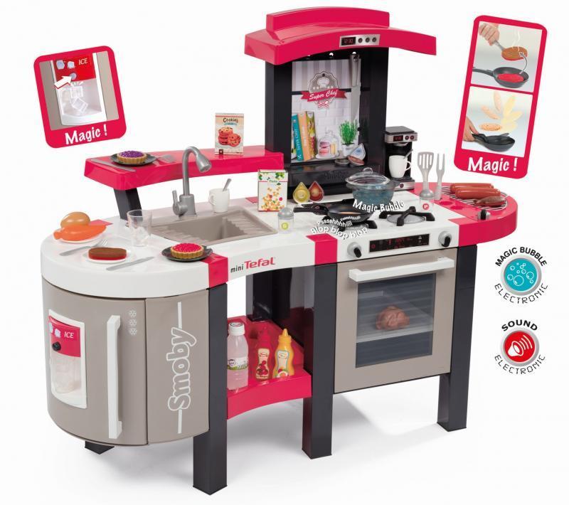 Smoby Kuchyňka Tefal Super Chef, elektronická