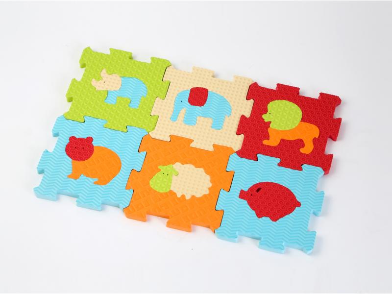 Ludi Puzzle pěnové 46,5x31,5 cm zvířátka