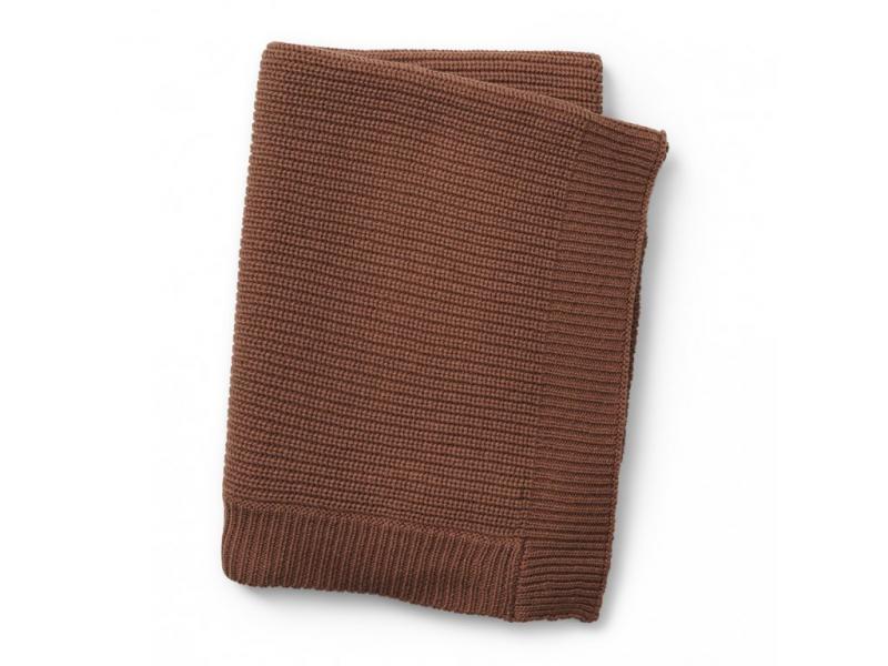 Elodie Details vlněná deka Burned Clay