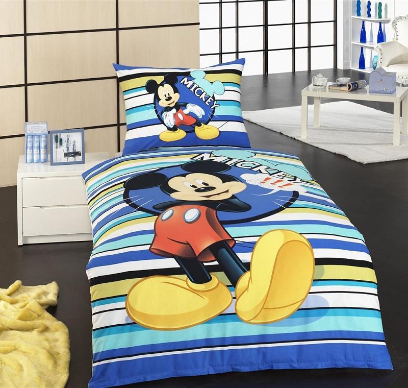 Matějovský Bavlněné povlečení do postýlky Disney Mickey baby 130x90 cm