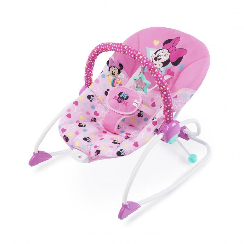 Disney baby Houpátko vibrující Minnie Mouse Stars & Smiles Baby, do 18 kg, 0m+
