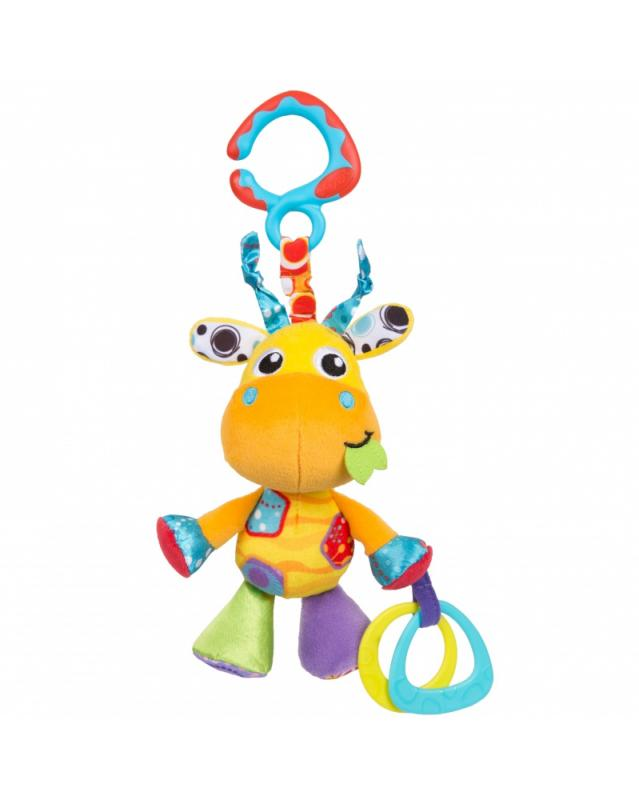 Playgro Závěsná žirafa s kousátky