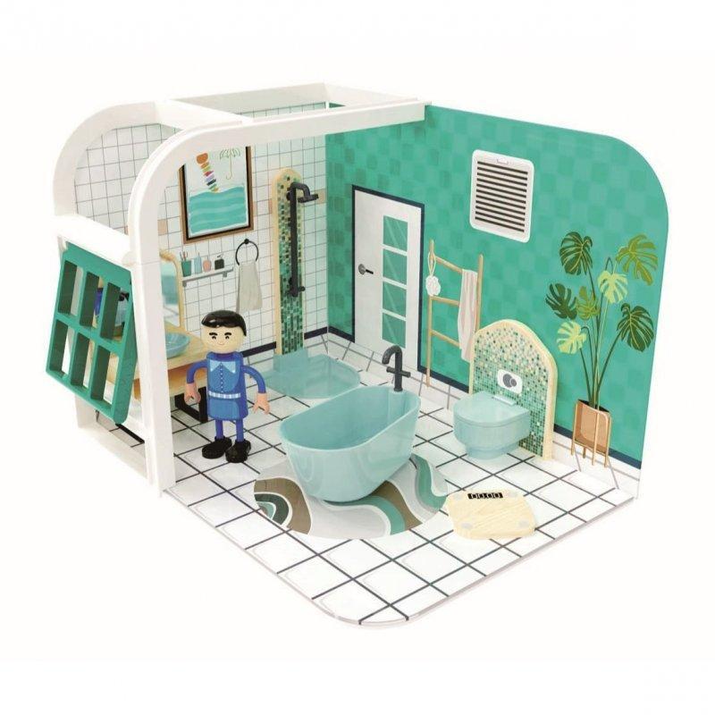 Jouéco Hrací set koupelna 36m+