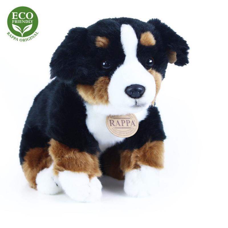 Rappa ECO-FRIENDLY plyšový pes salašnický sedící, 23 cm