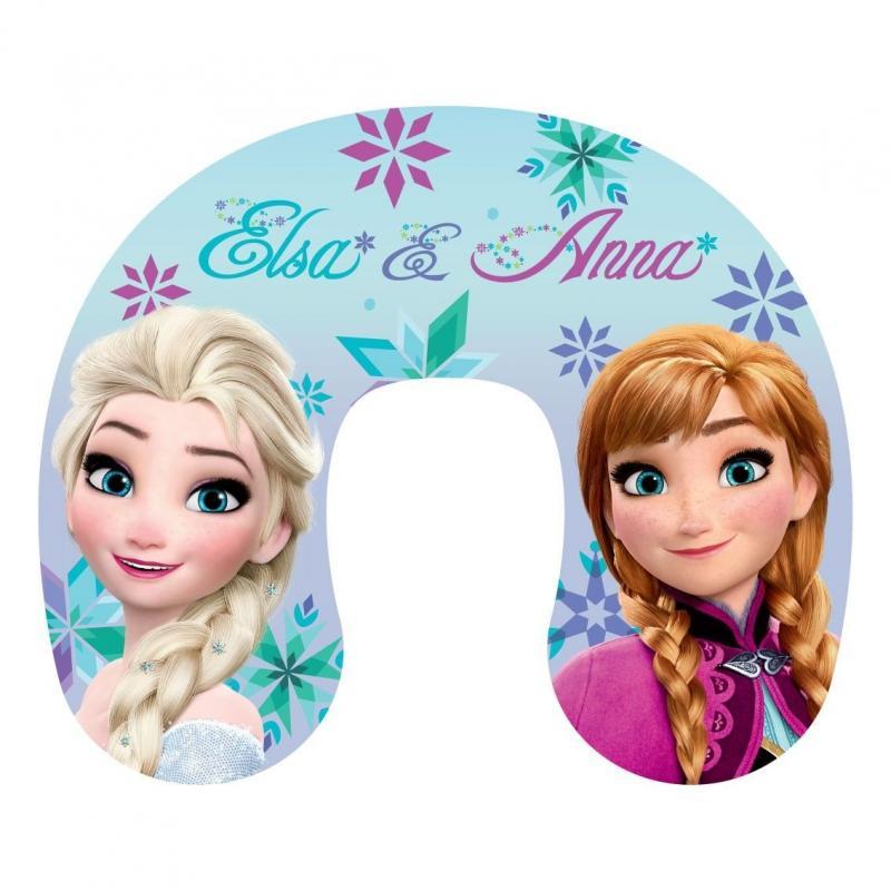 Jerry Fabrics Cestovní polštářek Ledové Království Anna a Elsa