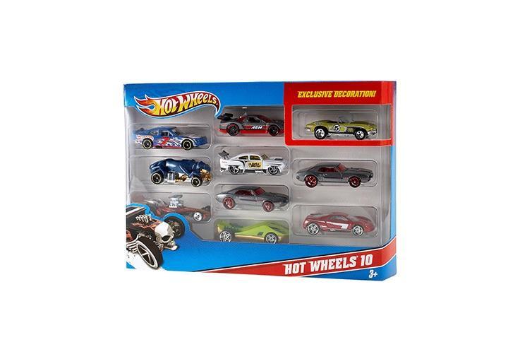 Mattel Hot Wheels Angličák 10PACK