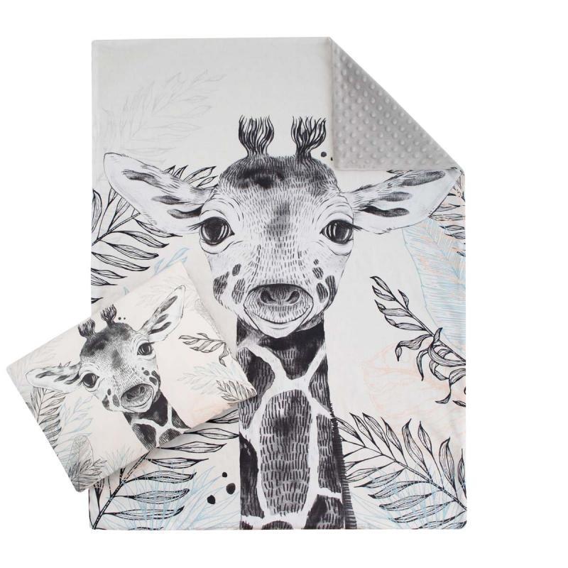 Esito Luxusní sada do postýlky MINKY Žirafa