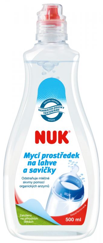 NUK Mycí prostředek na láhve a savičky 500 ml