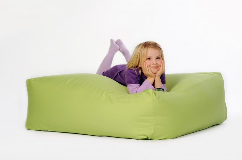 Babyvak Relaxační pytel Čtverec - zelený
