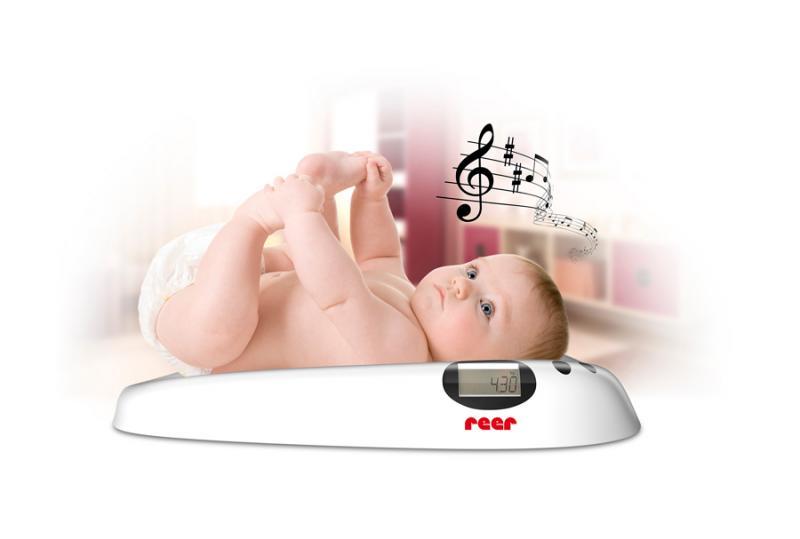 Reer dětská digitální váha s melodií