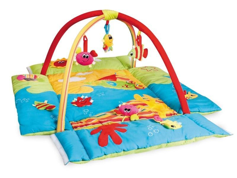 Canpol babies multifunkční hrací deka 3 v 1 oceán